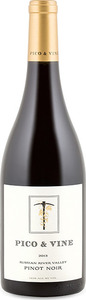 Pico & Vine Pinot Noir 2013, Russian River Valley, Sonoma County Bottle