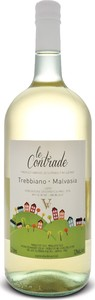 Le Contrade Trebbiano Malvasia 2013, Lazio Igp (2000ml) Bottle