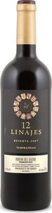 Doce Linajes Reserva 2007, Do Ribera Del Duero Bottle