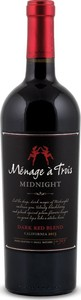 Ménage à Trois Midnight 2013, Napa Valley Bottle