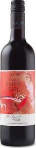 """Fancy Farm Girl """"Flamboyant"""" Red 2014, Niagara Peninsula Bottle"""