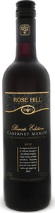 Rose Hill Cabernet Merlot Private Edition 2014, Niagara Peninsula VQA Bottle