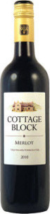 Cottage Block Merlot 2013, Niagara Peninsula VQA Bottle