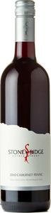 Stoney Ridge Cabernet Franc 2013, VQA Niagara Peninsula Bottle