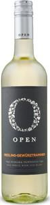 Open Wines Riesling Gewürztraminer 2014, VQA Niagara Penisula Bottle