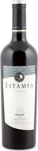 Estampa Fina Reserva Carmenère/Syrah/Cabernet Sauvignon 2013, Colchagua Valley Bottle