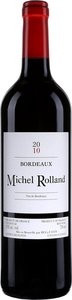 Michel Rolland Bordeaux 2010 Bottle