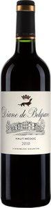 Diane De Belgrave 2010 Bottle