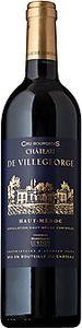 Château De Villegeorge 2012, Ac Haut Médoc Bottle