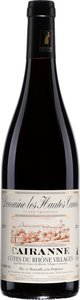 Domaine Les Hautes Cances Cairanne Tradition 2012 Bottle