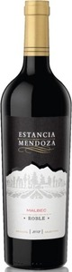 Estancia Mendoza Malbec Roble 2013 Bottle