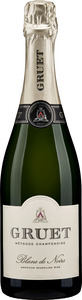 Gruet Blanc De Noirs Méthode Champenoise Sparkling, Méthode Traditionnelle, New Mexico Bottle