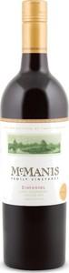 Mcmanis Zinfandel 2014, Lodi Bottle