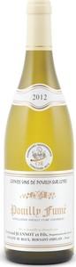 Domaine De Riaux Pouilly Fumé 2012, Ac Bottle