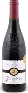 Domaine Grandy Vacqueyras 2012, Ac Bottle