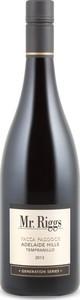 Mr. Riggs Yacca Paddock Tempranillo 2013, Adelaide Hills Bottle