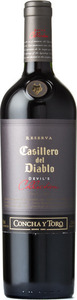 Casillero Del Diablo Devil's Collection Red 2014 Bottle