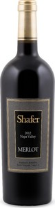 Shafer Merlot 2013, Napa Valley Bottle