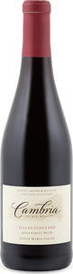 Cambria Julia's Vineyard Pinot Noir 2012, Certified Sustainable, Santa Maria Valley Bottle