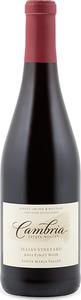 Cambria Julia's Vineyard Pinot Noir 2012, Certified Sustainable, Santa Maria Valley Bottle