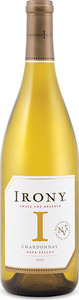 Irony Small Lot Reserve Chardonnay 2013, Napa Valley Bottle