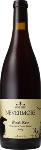Gothic Nevermore Pinot Noir 2013, Willamette Valley Bottle