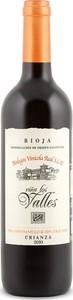 Viños Los Valles Tempranillo/Graciano Crianza 2010, Doca Rioja Bottle