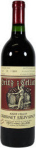 Heitz Trailside Vineyard Cabernet Sauvignon 2009, Napa Valley Bottle