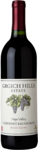 Grgich Hills Estate Cabernet Sauvignon 2012, Napa Valley Bottle