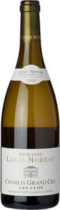 Domaine Louis Moreau Chablis Grand Cru Les Clos 2013, Ac, Grand Cru Bottle