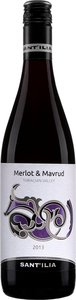Saint Ilia Estate Merlot / Mavrud 2013 Bottle