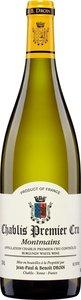 Domaine Jean Paul Et Benoit Droin Chablis Premier Cru Montmains 2014 Bottle