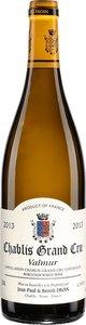 Domaine Jean Paul Et Benoit Droin Chablis Valmur Grand Cru 2014 Bottle