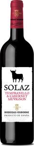 Solaz Tempranillo Cabernet Sauvignon 2014, Castilla León, Spain Bottle
