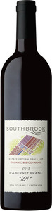 "Southbrook Small Lot ""101"" Cabernet Franc 2013, VQA Niagara On The Lake Bottle"