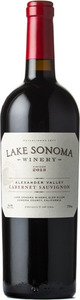 Lake Sonoma Winery Cabernet Sauvignon 2014, Alexander Valley, Sonoma County Bottle
