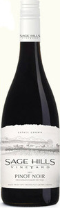 Sage Hills Vineyard Pinot Noir 2014, BC VQA Okanagan Valley Bottle