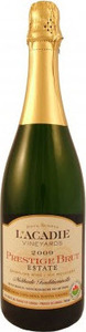 L'acadie Vineyards Prestige Brut, Traditional Method 2008, Annapolis Valley Bottle