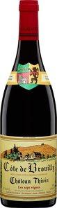 Cuvée Les Sept Vignes Château Thivin Beaujolais 2014 Bottle