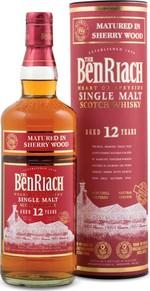 Benriach 12 Ans Sherry Matured Scotch Single Malt (700ml) Bottle