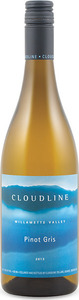 Cloudline Pinot Gris 2014 Bottle