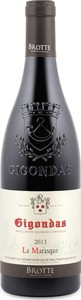 Brotte La Marasque Gigondas 2013, Ac Bottle