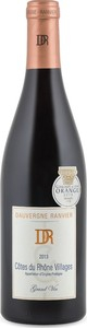 Dauvergne Ranvier Grand Vin Cotes Du Rhône Villages 2013, Ap Bottle