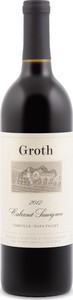 Groth Cabernet Sauvignon 2012, Oakville, Napa Valley Bottle