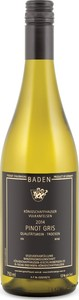 Königschaffhauser Vulkanfelsen Trocken Pinot Gris 2012, Erzeugerabfüllung, Qualitätswein Bottle