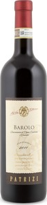 Patrizi Barolo 2011, Docg Bottle