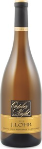 J. Lohr October Night Chardonnay 2014, Arroyo Seco, Monterey County Bottle