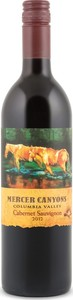 Mercer Canyons Cabernet Sauvignon 2012, Columbia Valley Bottle