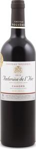 Château Nozières Cuvée Ambroise De L'her Malbec Cahors 2012 Bottle