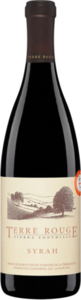 Terre Rouge Syrah Sierra Foothills 2005 Bottle